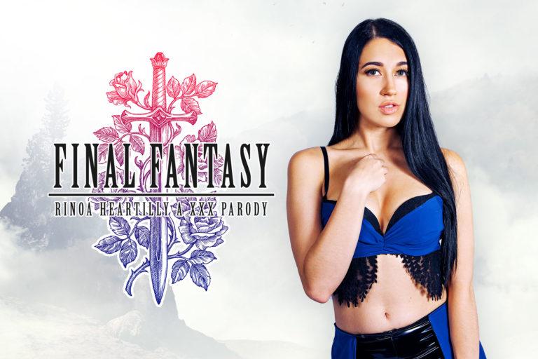 VRCosplayX - Final Fantasy Rinoa Heartilly A XXX Parody