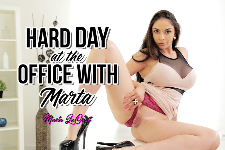 BaDoinkVR - Hard Day at the Office with Marta