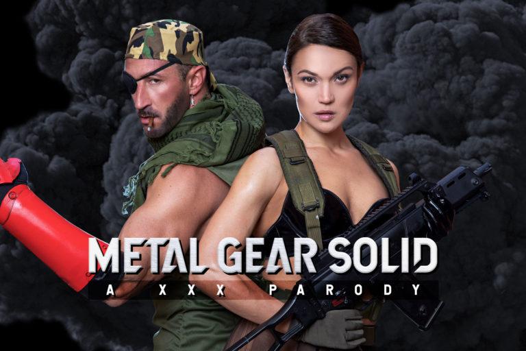 VRCosplayX - Metal Gear Solid A XXX Parody