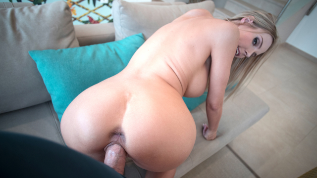 Only3xVR - Huge titted Florane Russel riding your cock to orgasm