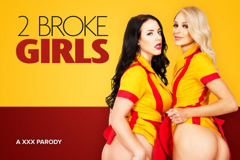 VRCosplayX - 2 Broke Girls A XXX Parody