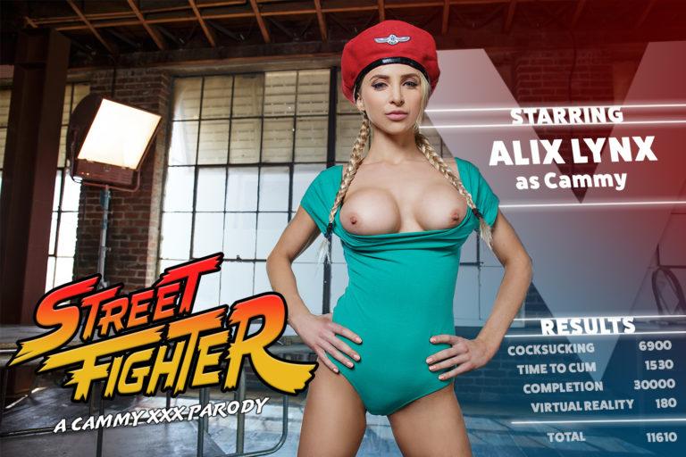 VRCosplayX - Street Fighter A Cammy XXX Parody