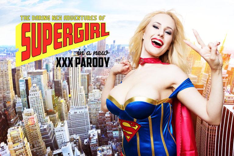 VRCosplayX - Supergirl A XXX Parody