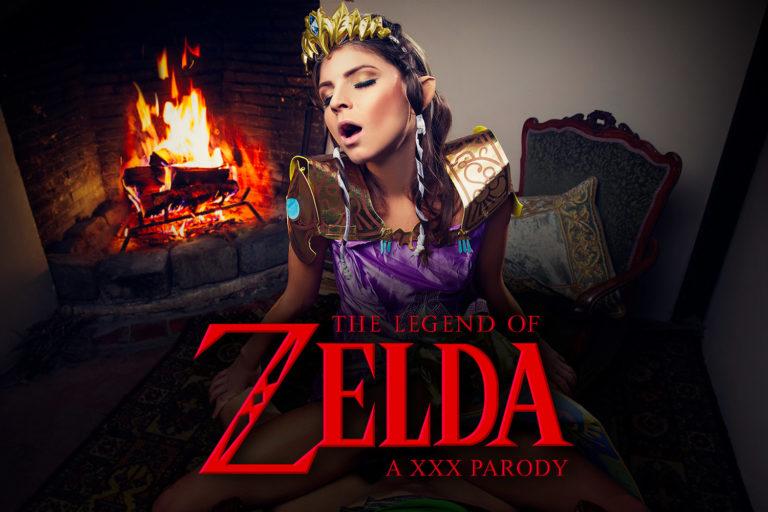 VRCosplayX - The Legend Of Zelda - A XXX Parody