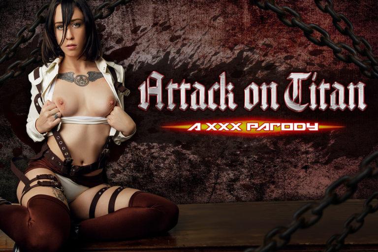 VRCosplayX - Attack on Titan A XXX Parody