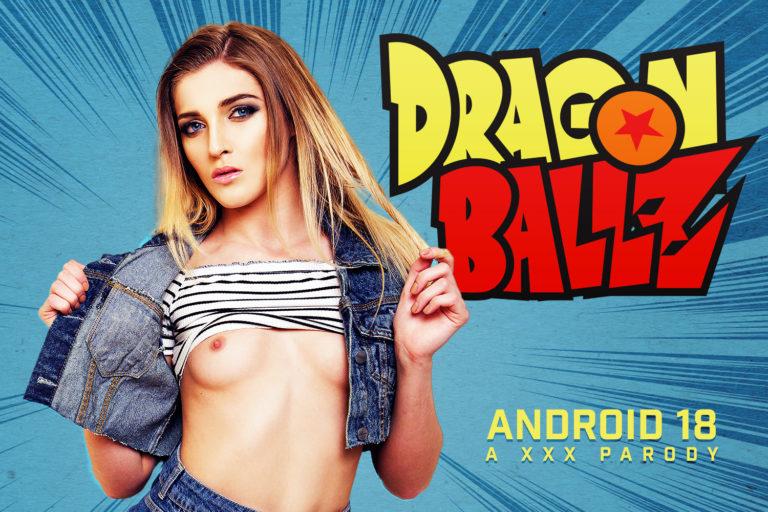 VRCosplayX - C18 A XXX Dragon Ball Z Parody