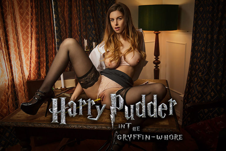 VRCosplayX - Harry Pudder In The Gryffin-Whore