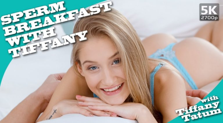 TmwVRnet - Sperm breakfast with Tiffany