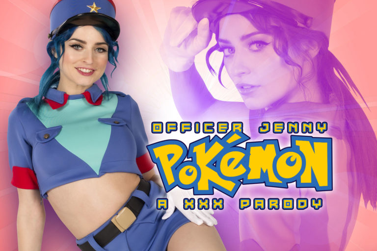 VRCosplayX - Pokemon: Officer Jenny A XXX Parody