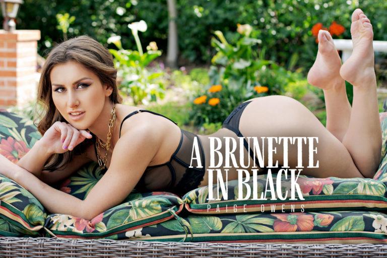 BaDoinkVR - A Brunette in Black