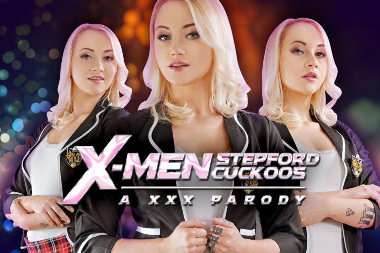VRCosplayX - Xmen: Stepford Cuckoos A XXX Parody