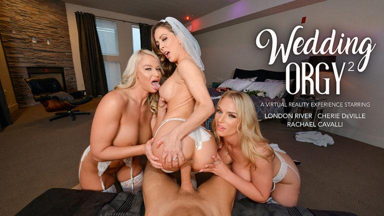NaughtyAmericaVR - Wedding Orgy 2