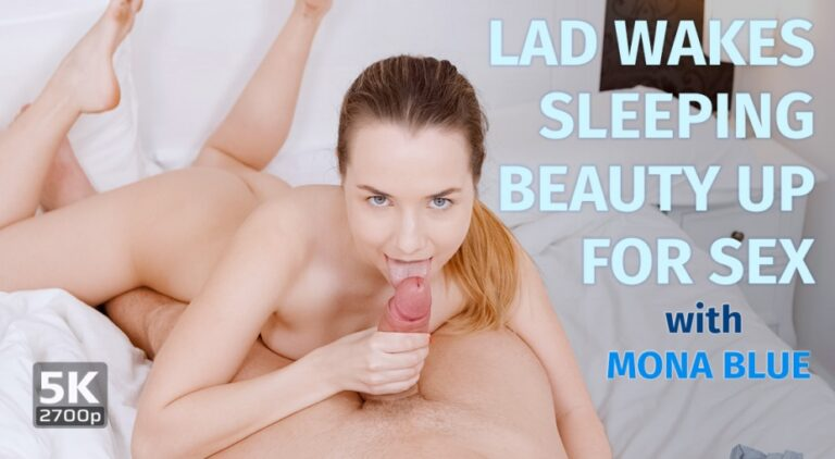 TmwVRnet - Lad wakes Sleeping Beauty up for sex