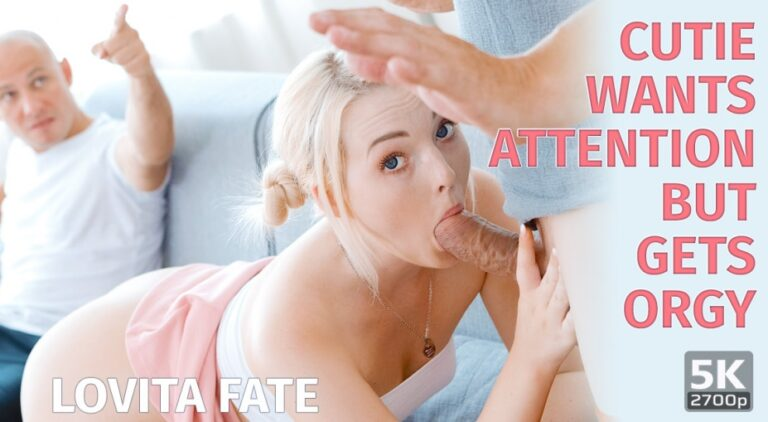 TmwVRnet - Cutie wants attention but gets orgy