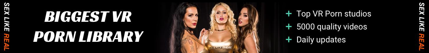 SexLikeReal - Desktop Banner