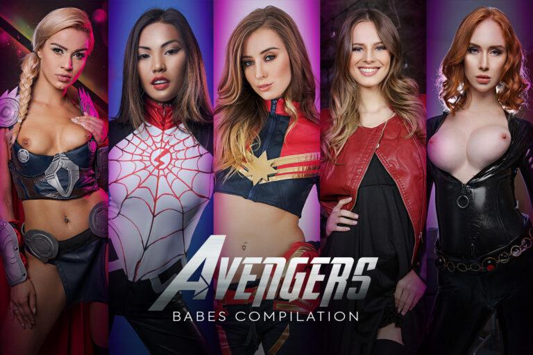 VRCosplayX - Avengers Babes Compilation A XXX Parody