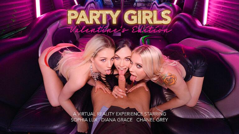NaughtyAmericaVR - Party Girls: Valentine's Edition