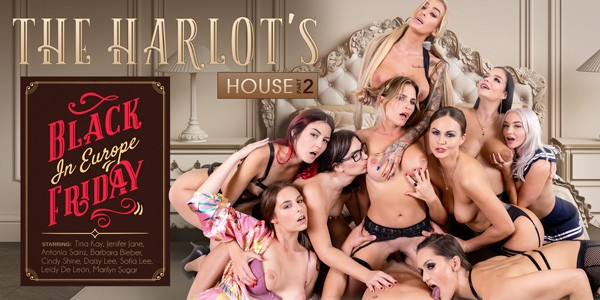 VRBangers - The Harlot's House: Black Friday in Europe Part 2