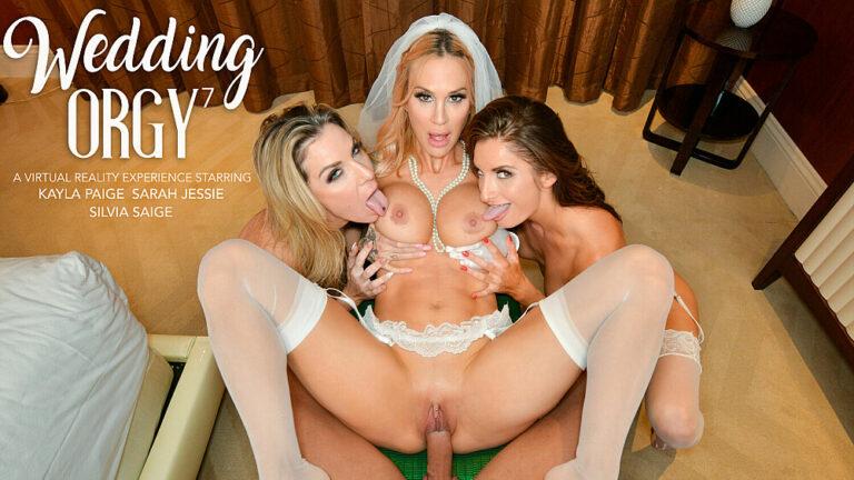 NaughtyAmericaVR - Wedding Orgy 7