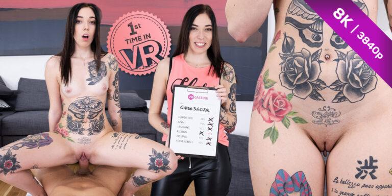 CzechVRCasting - Tattooed Italian Slut