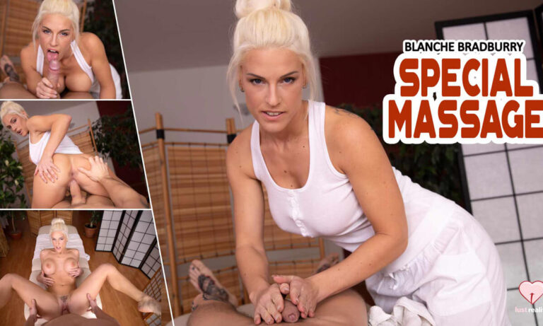 LustReality - Special Massage With Blanche
