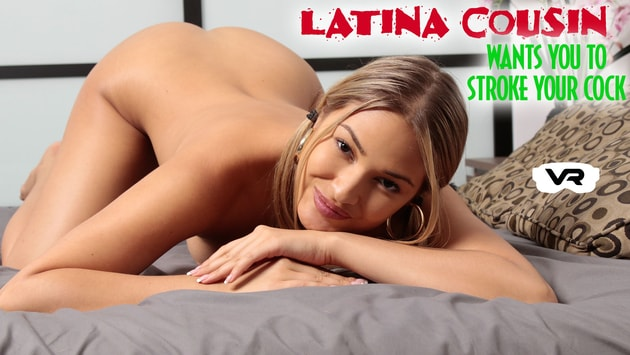 RealHotVR - Latina Cousin Giselle Blanco Wants You To Stroke Your Cock