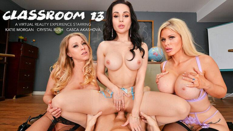 NaughtyAmericaVR - Classroom 13