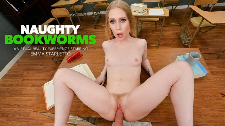 NaughtyAmericaVR - Naughty Bookworms: Emma Starletto