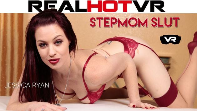 RealHotVR - Jessica Ryan Caught Her Peeping Stepson & Spread Her Legs For Him