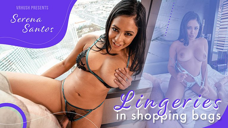 VRHush - Lingeries in Shopping Bags