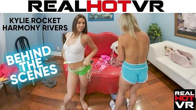 RealHotVR - Behind The Scenes Kylie Rocket & Harmony Rivers
