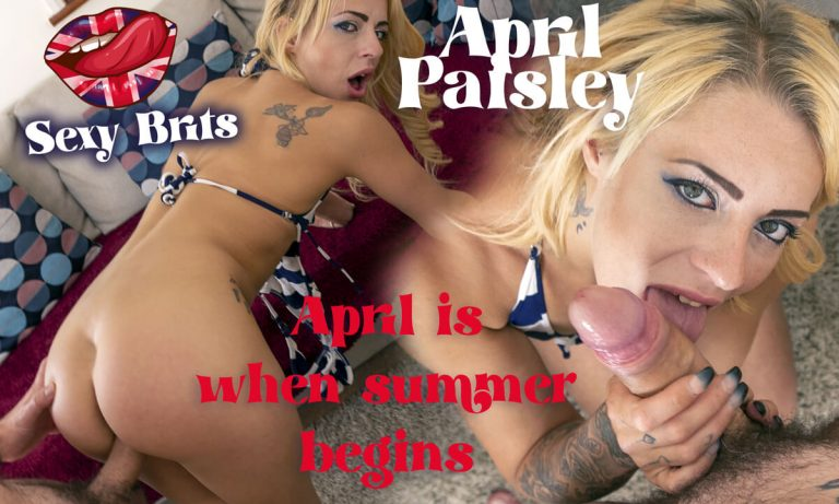 SexyBrits - April is When Summer Begins