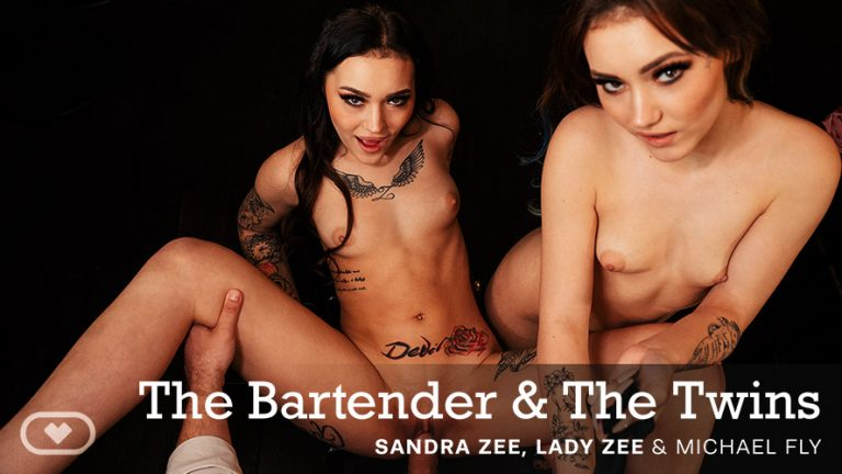 VirtualRealPorn - The Bartender & The Twins