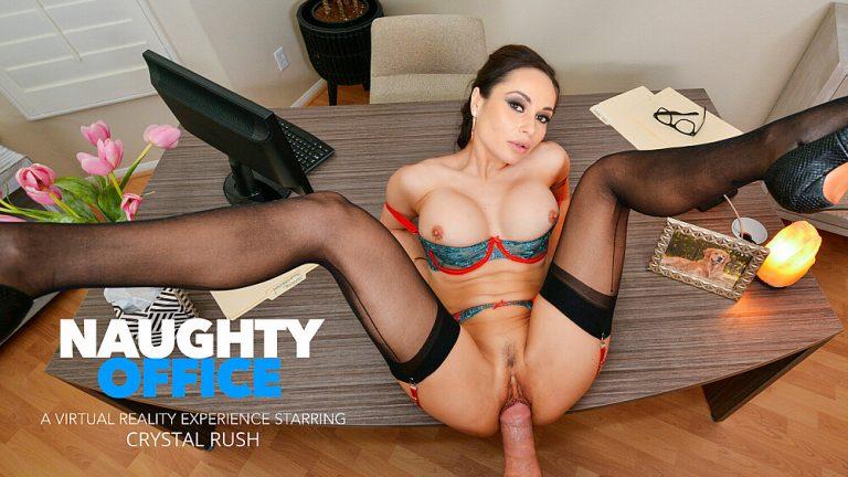 NaughtyAmericaVR - Naughty Office: Crystal Rush