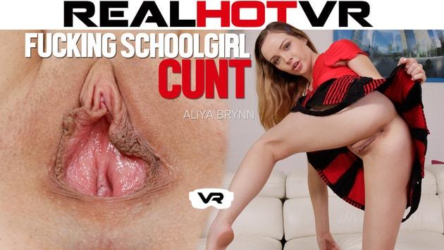 RealHotVR - Hot Schoolgirl Aliya Brynn Secretly Seduces Sisters Boyfriend