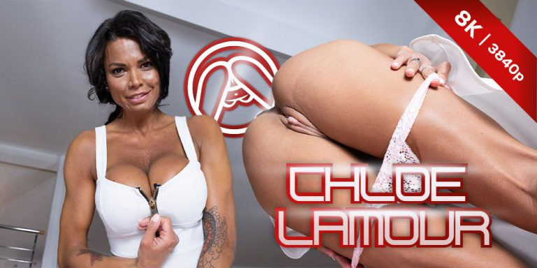 CzechVRFetish - Tanned Chole and her Pink Pussy