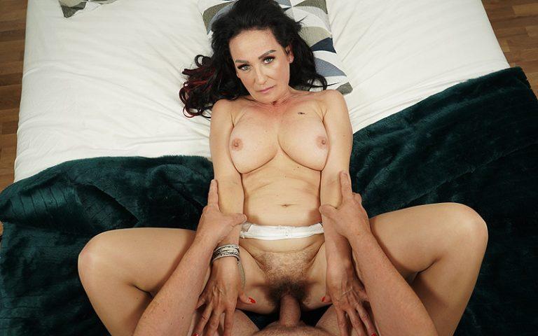 VirtualXPorn - POV sex with hairy grandma