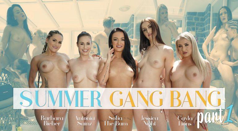 RealityLovers - Summer Gang Bang part 1