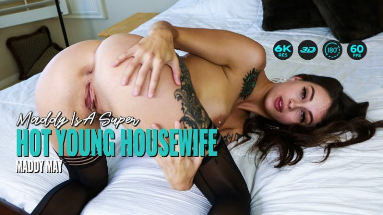 LethalHardcoreVR - Maddy Is A Super Hot Young Housewife