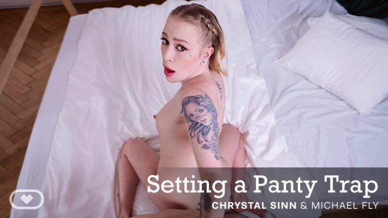 VirtualRealPorn - Setting a Panty Trap