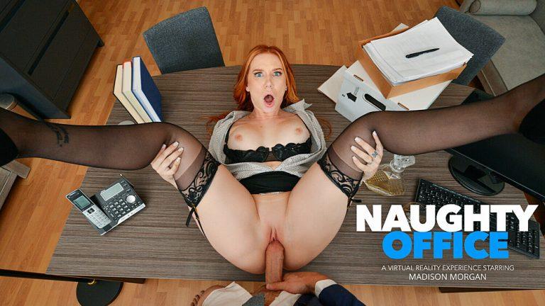 NaughtyAmericaVR - Naughty Office: Madison Morgan
