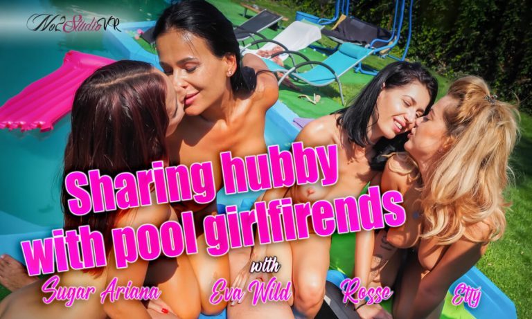 No2StudioVR - Sharing Hubby With Pool Girlfriends