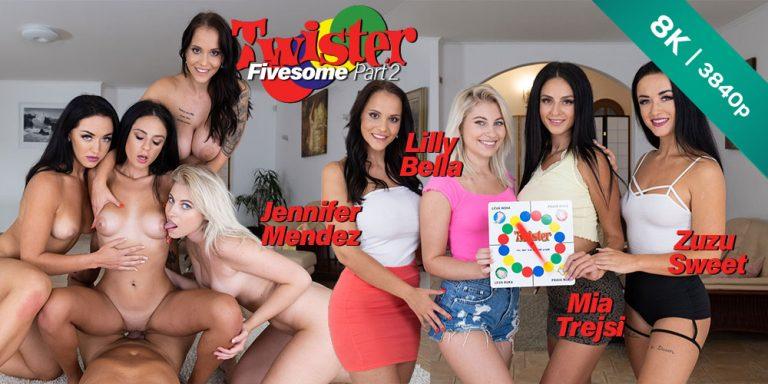 CzechVR - Twister Fivesome: Part 2