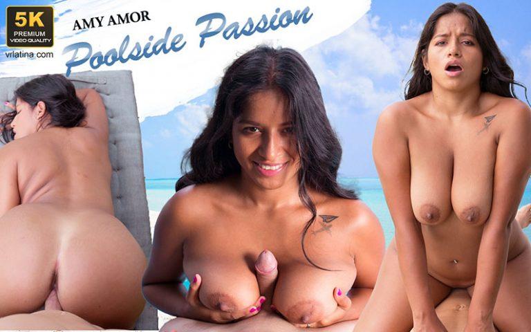 VRLatina - Poolside Passion