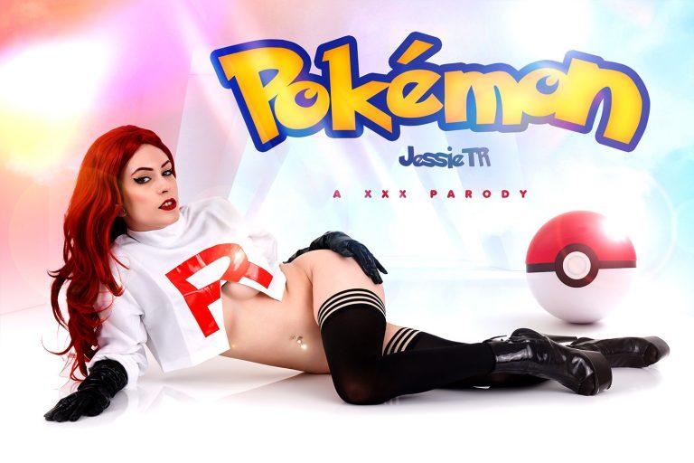 VRCosplayX - Pokemon: Team Rocket Jessie A XXX Parody