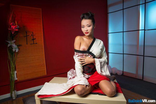 1. BaDoinkVR - Geisha Go Anal