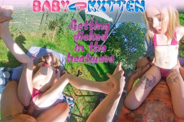 BabyKxtten - Hot Sunbathing with Stepdaddy II