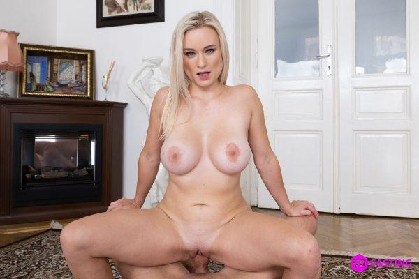 2. CzechVRCasting - Small Blonde, Big Tits