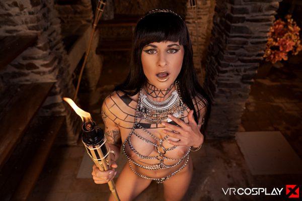 1. VRCosplayX - The Mummy A XXX Parody