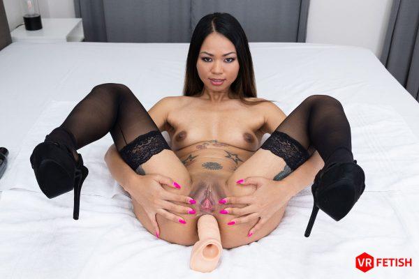 3. CzechVRFetish - Asian Stuffing